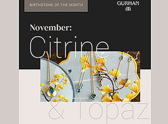 Topaz & Citrine Bring November to Life!